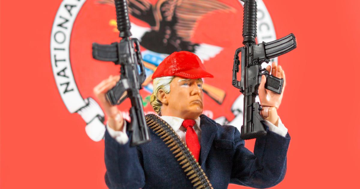 Donald Trump NRA Second Amendment guns